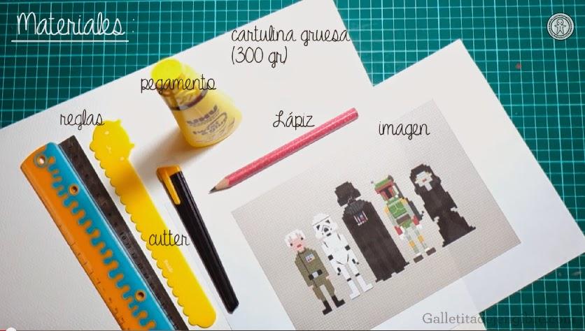 Como hacer un cuadro de cartulina. | Galletita de Jengibre