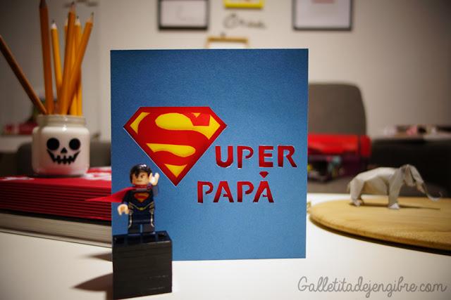 Tarjeta Super Papa Galletita De Jengibre