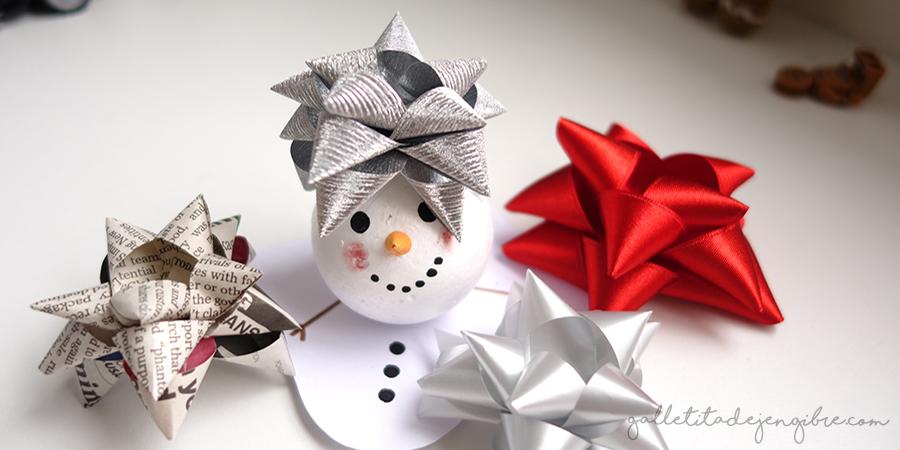 b018bfe25e49 Cómo hacer lazos o moños para regalos con distintos materiales ...